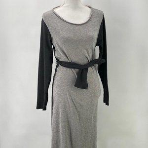 Sundance Gray Wool Blend Sweater Dress M
